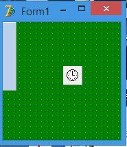 форма с плавающей панелью